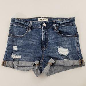 PacSun Super Stretch Shortie Shorts